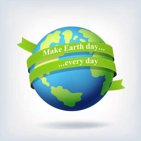 earth day: Earth day symbol design