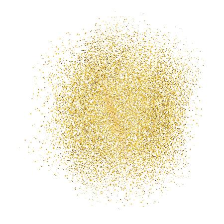 白地にゴールドの輝き。