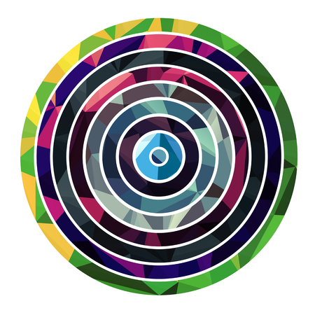 circle shape: Abstract circle shape