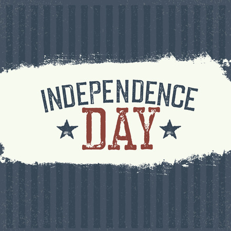 declaration of independence: Independence Day Label for Holiday. Design template.