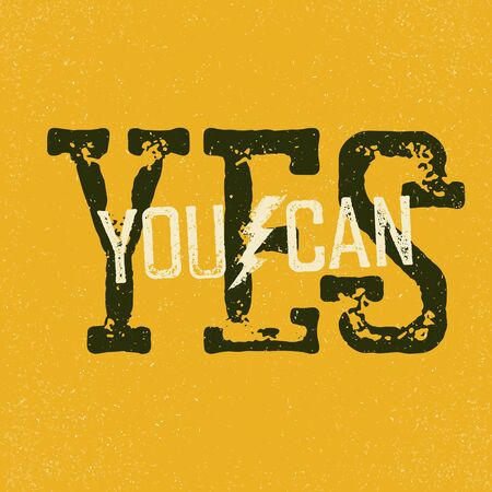 can yes you can: Yes, you can quote. Typographical Background