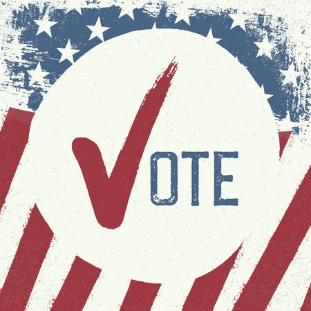 voting: Voting symbol design template.