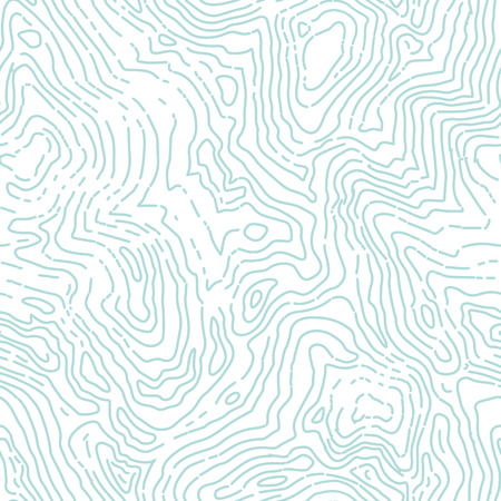 Seamless topographic contour map pattern.