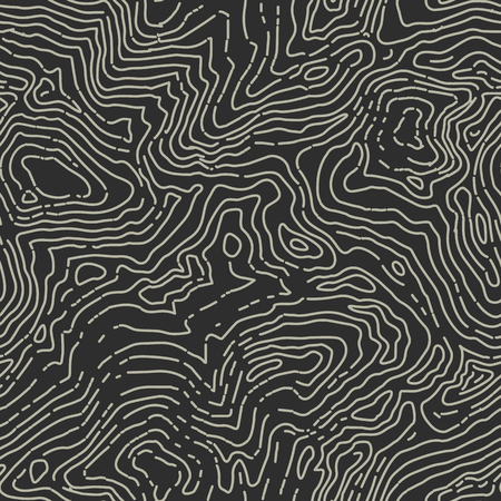 topographic: Seamless topographic contour map pattern.