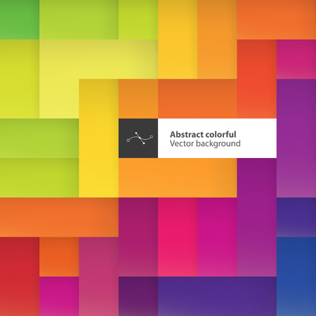 Color squares. Abstract geometric colorful background. With space for text