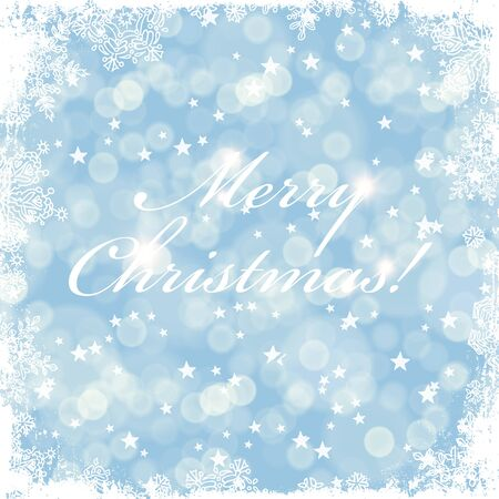 greeting card background: Merry Christmas greeting card with golden background.