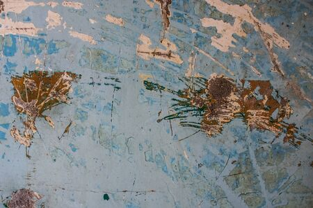 Abstract old paint dirty wall background photo