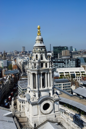 London - view from Saint Paul s Cathedral photo