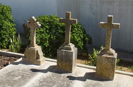 churchyard: The old churchyard, Faro, Portugal