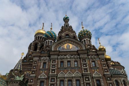 Church of the Savior on Blood, Saint-Petersburg, Russia Stock Photo