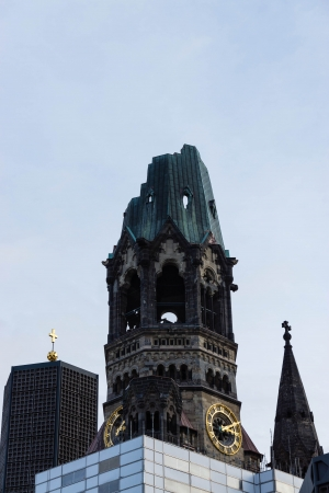 The Kaiser Wilhelm Memorial Church Gedachtniskirche In Berlin