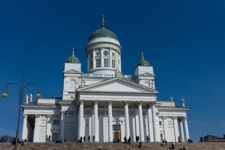 Cathedral in Helsinki. The main cathedral in Finland