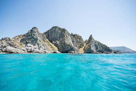 Groticelle beach near Tropea city, Calabria, Italy. Stock Photo