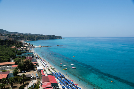 Ancient Italian town of Tropea in Calabria
