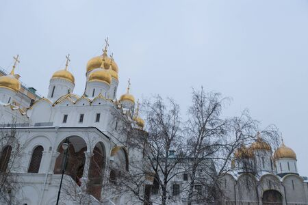 The Annunciation Cathedral in Moscow Kremlin, Russia