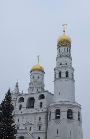 Ivan the Great Bell Tower, Moscow, Russia Stock Photo