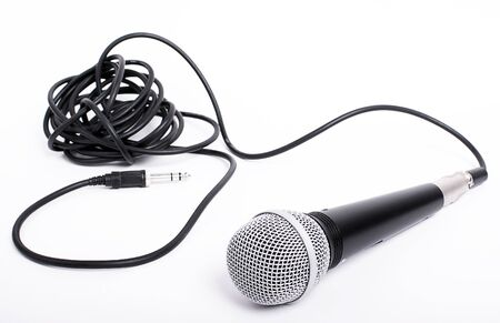 monologue: Microphone With Cord For Lead Singer