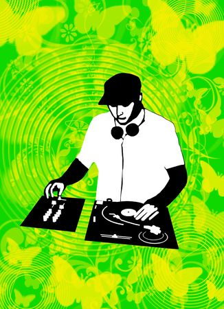 Spring Dj Stock Photo - 4295788