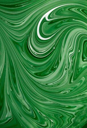 artistry: Mixed paint Stock Photo