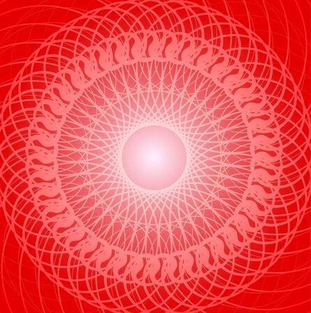 swirl ornament photo