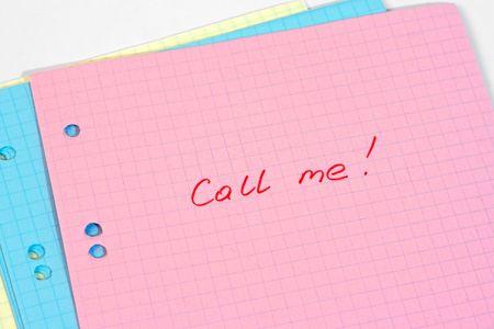 Call me! photo