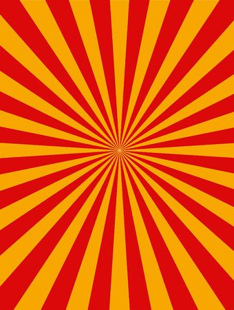 Yellow and red stripes background  Stock Photo - 7009624