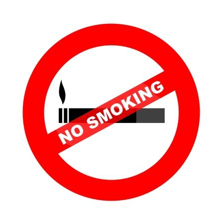 smoldering: No smoking illustration