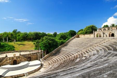 Amphitheatre in Altos de Chavon, Casa de Campo Stock Photo - 8701807
