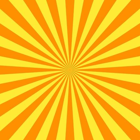 raggio: Volantino sfondo arancione stripes  Archivio Fotografico