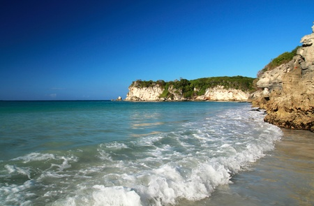 Wild caribbean beach Macao, Dominican Republic photo