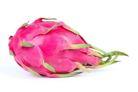 Dragon fruit, isolated on white photo