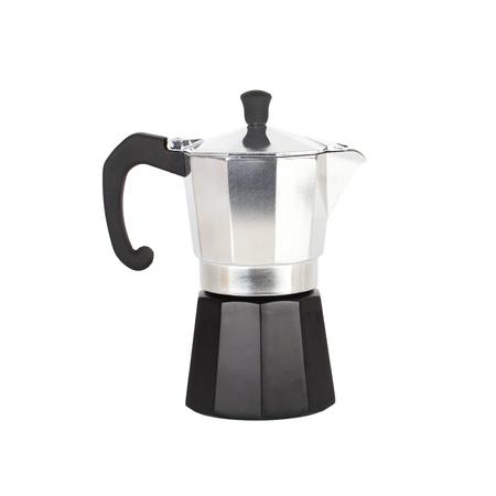 percolator: Coffeepot isolated on white