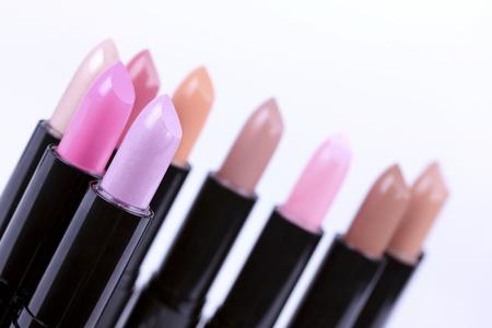 Tools for make-up artist, lipsticks photo