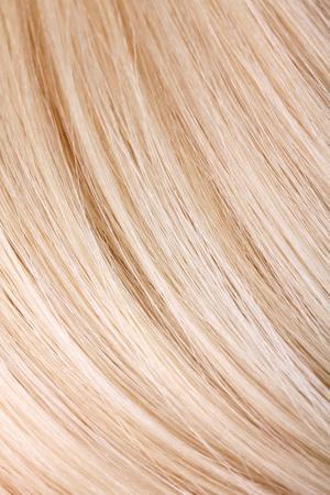 artificial hair: Extensiones de cabello rubio, macro