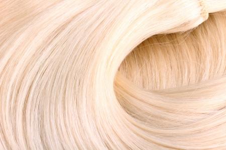 texture capelli: Biondi capelli estensione macro