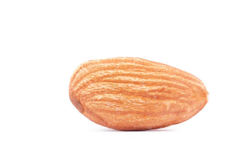 Almond isolated on white  photo