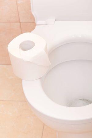 Clean and white toilet Stock Photo - 12948531