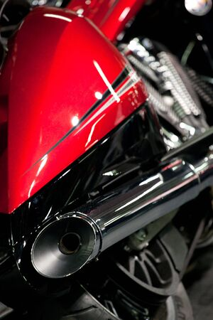 details of a motorcycle photo