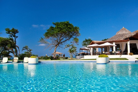 summerhouse: Swimming pool in caribbean resort