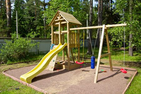 kinder: Kinder parco giochi, esterno