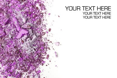 eyemakeup: Crushed eyeshadows. Beauty concept