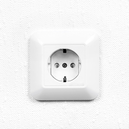 receptacle: Wall socket, interior