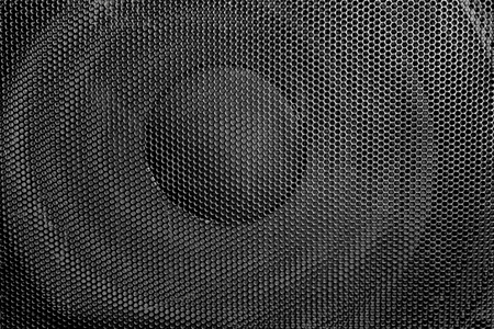 Loudspeaker Closeup shot