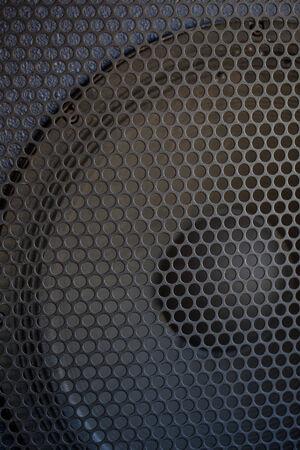 speaker grill: Sound Speaker grill texture. Macro shot