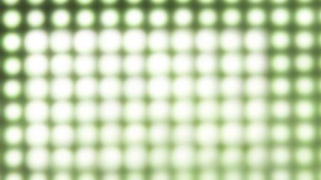 Blured green round lights background photo