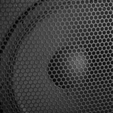 sound speaker: Sound Speaker grill texture. Macro shot