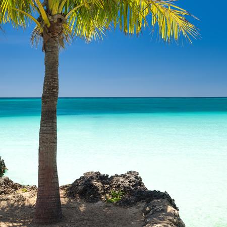 boracay: Island Boracay, Philippines. Boat Station One, White beach place. Stock Photo