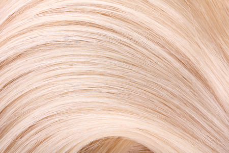 long blonde hair: Blond hair extension, macro