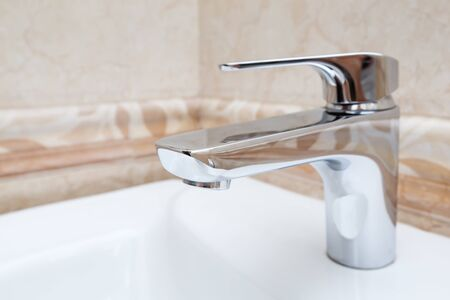 Faucet mixer for water in bathroom