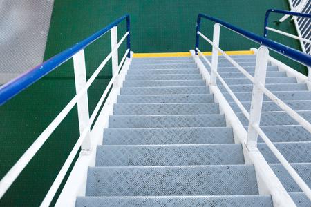 Stairs On Cruise Ship, Nobody Stock Photo   90738526